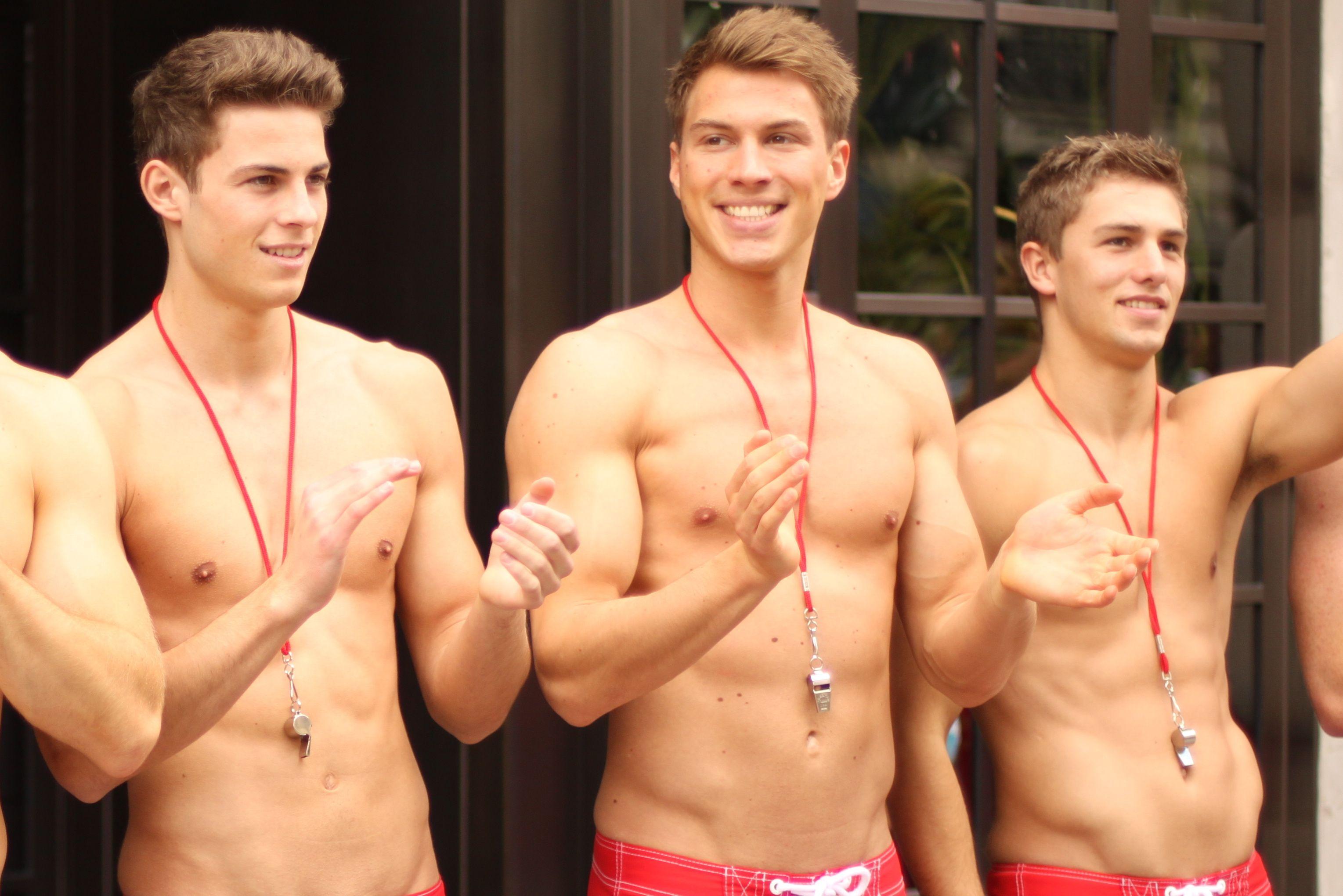 Abercrombie hot gay model