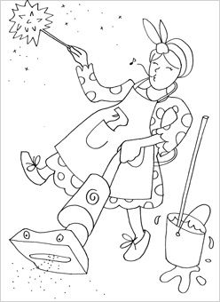 People Coloring Pages Perfect For Learning About Different Jobs