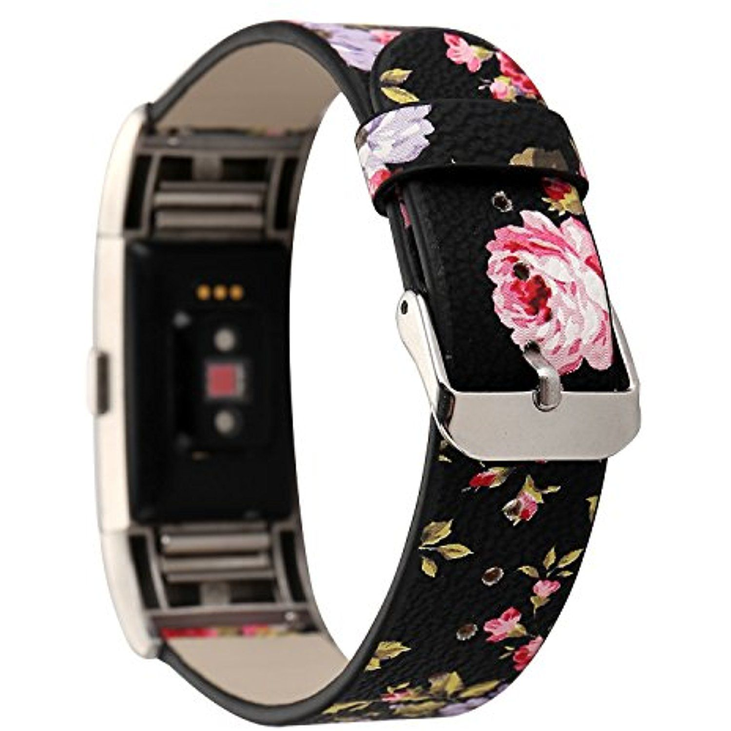 Replacement 5Row Beads Adjustable Watchband Wrist Band Strap for Fitbit Charge 2