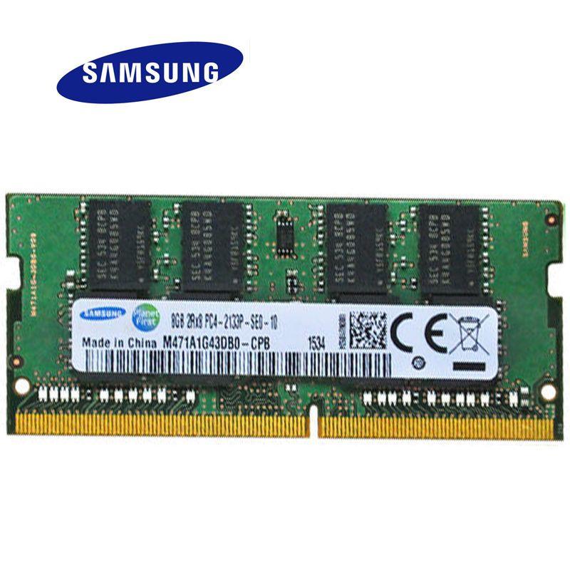 SAMSUNG Geheugen RAM 8 GB 4 2 DDR3 DDR3L Laptop DDR 1600 Memoria DRAM Stok Voor Notebook 100 Originele