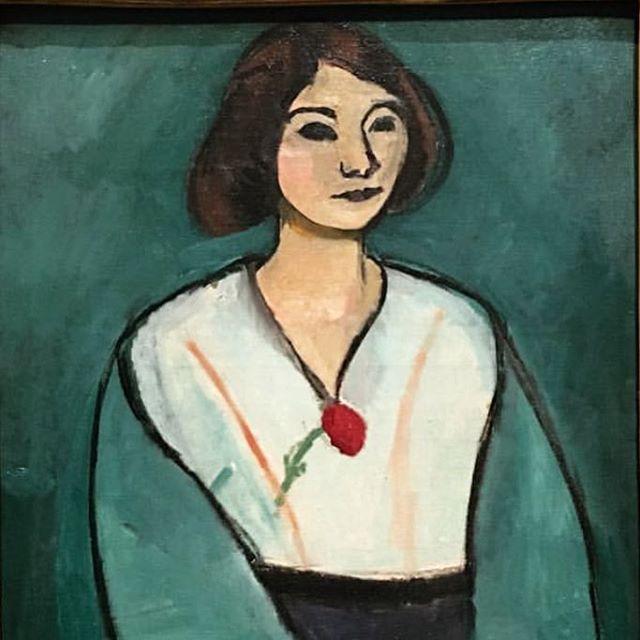 la dame en vert #henrimatisse