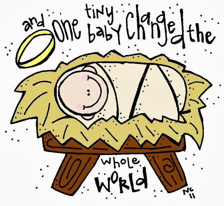 Melonheadz LDS illustrating: Baby Jesus | toddler pics | Pinterest