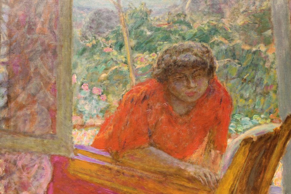 Bonnard Dining Room In The Country Detail Right Side 1913