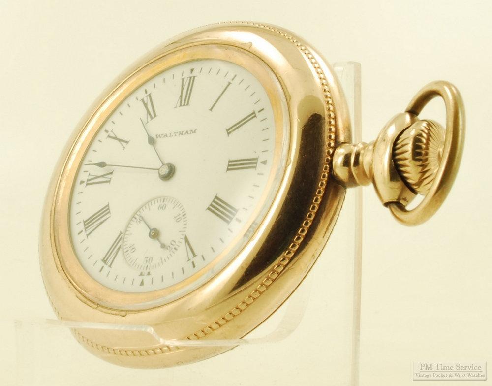 Waltham Grade W Vintage Pocket Watch 6 Size In 12 Size Case Etsy In 2020 Vintage Pocket Watch Thin Models Pocket Watch