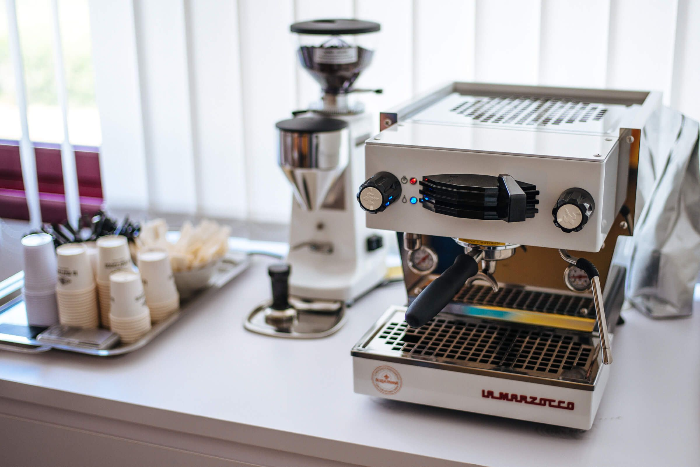 La Marzocco Home Linea Mini Espresso Machine From La Marzocco Factory Tour In Florence The Taste Edit In 2020 Espresso Machine Espresso La Marzocco