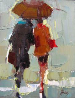 In The Rain/Barbara Flowers
