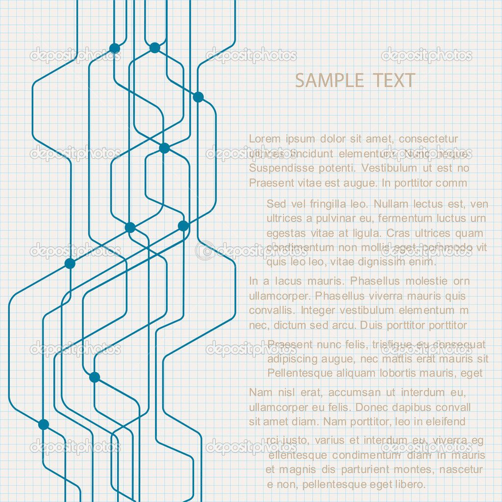 Abstract technology background. Vector eps10
