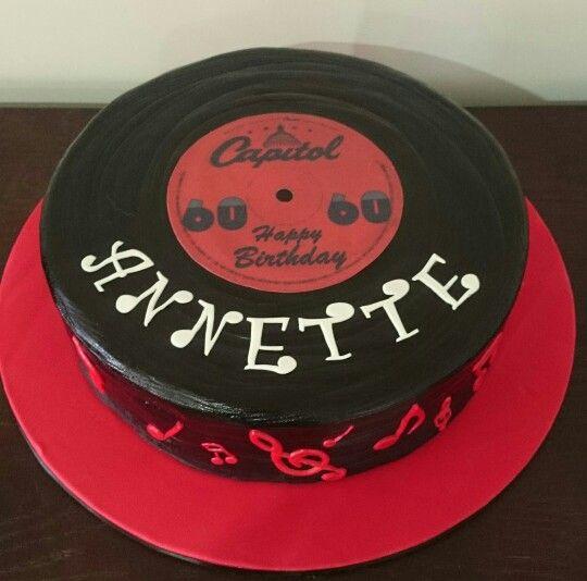 Vinyl Record Cake Record Cake Music Cakes Music Themed Cakes