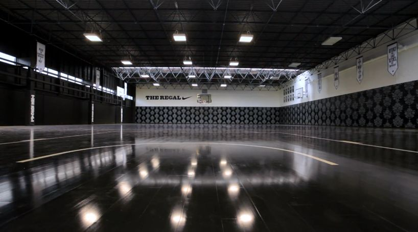 perfect floor for #floorball nike + hotel: the regal basketball ...