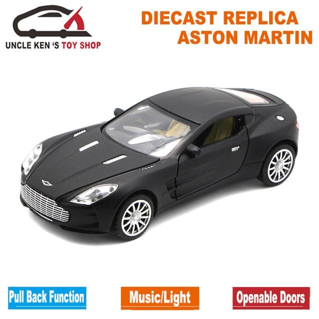 Aston Martin One-77 Metal Toy Cars , 1/32 Diecast Scale