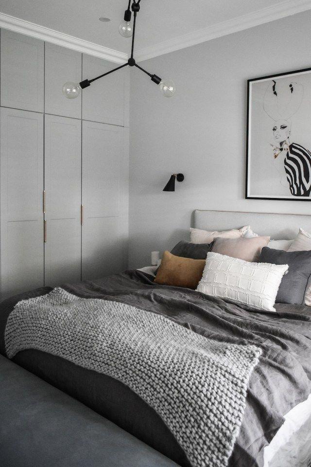 30 stilvolle graue Wohnzimmerideen, die Sie inspirieren – Ideen für graues Wohnen … – Ramsey Tormen my blog well come