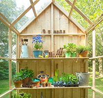 Les Serres Et Abris De Jardin Abri De Jardin Jardins Abri