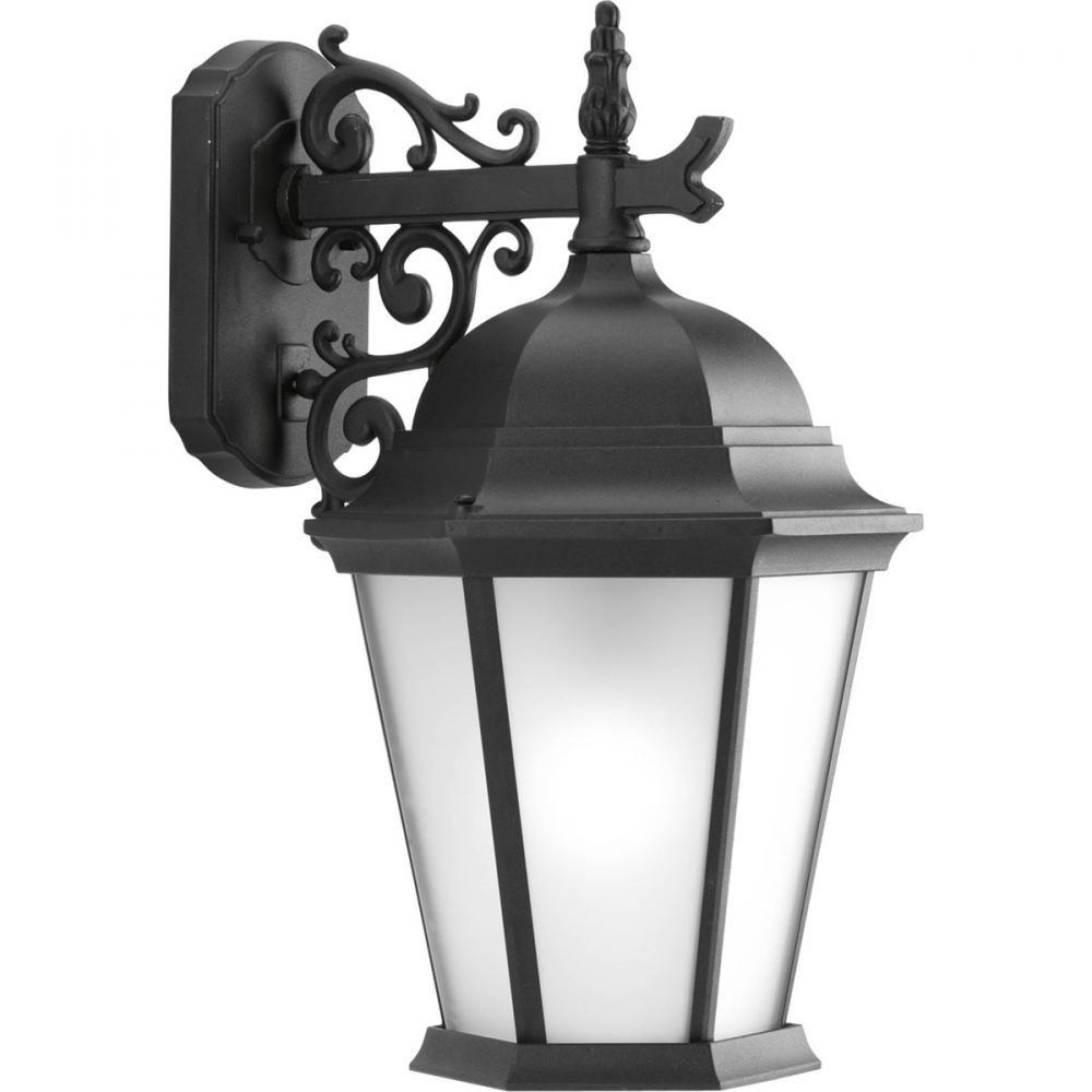 One Light Textured Black Etched Glass Wall Lantern  1N9C5 | Brechers Lighting  sc 1 st  Pinterest & One Light Textured Black Etched Glass Wall Lantern : 1N9C5 ...