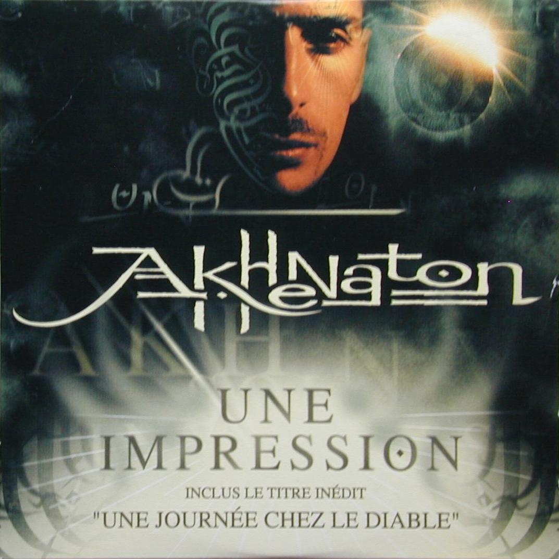 Akhenaton – Une Impression (single cover art)