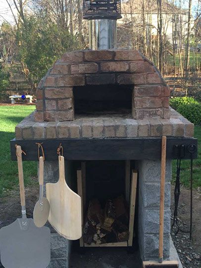 Outdoor Pizza Oven, DIY Wood Fired Pizza Oven by BrickWood ...