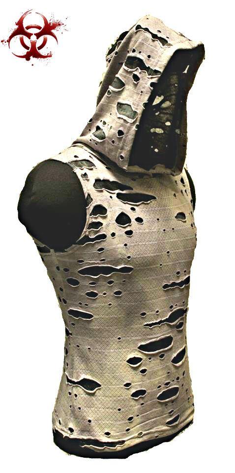 SHRINE GOTHIC ZOMBIE DECAYED PUNK EMO GOTH APOCALYPTIC SHIRT BIKER ROCKER TATTOO