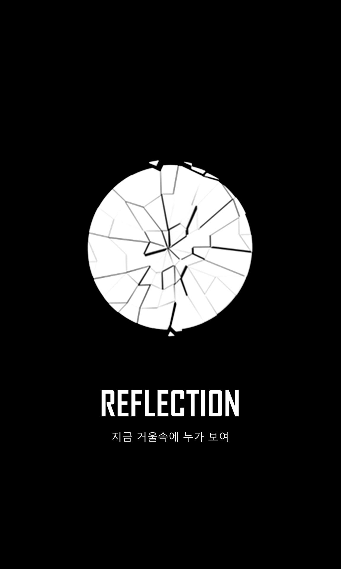 bts wings short film logo reflection wallpaper korean ver bts
