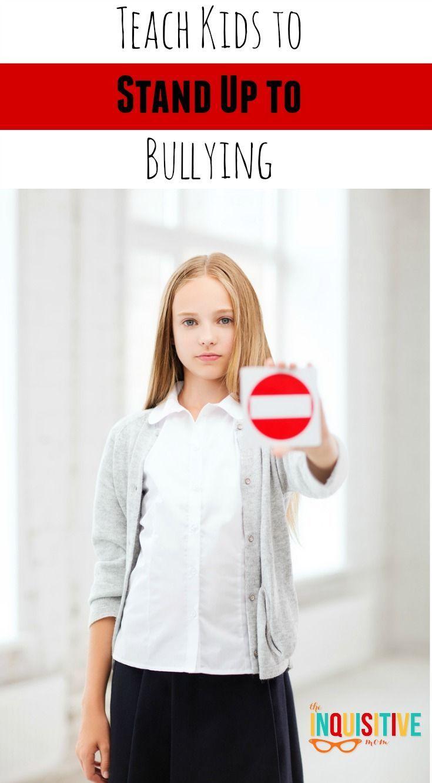 Kids Standing Up To Bullies
