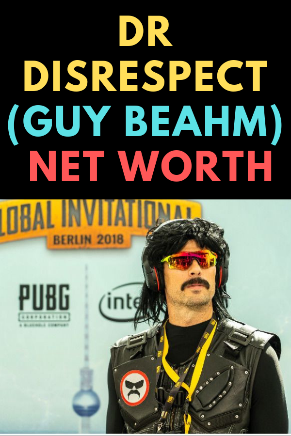 """Dr Disrespect (real name – Guy Beahm), self-proclaimed """"Face of"""