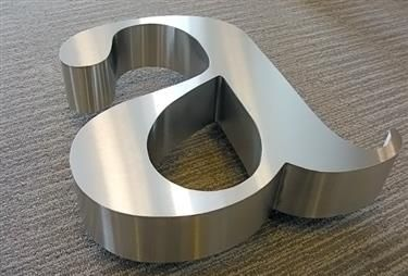 17 best images about stainless steel signage on pinterest typography outdoor business signs and 316 stainless steel