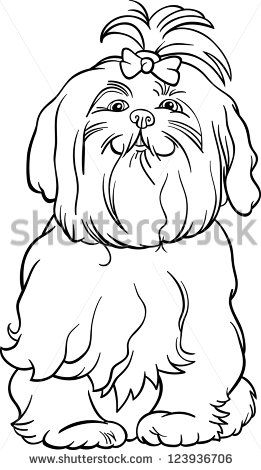 cartoon maltese dog stock photos images pictures shutterstock
