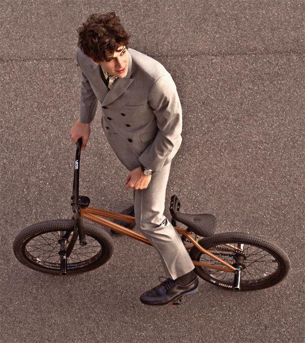 Dandois in GQ. Of hoe kleine fietsjes groots kunnen zijn