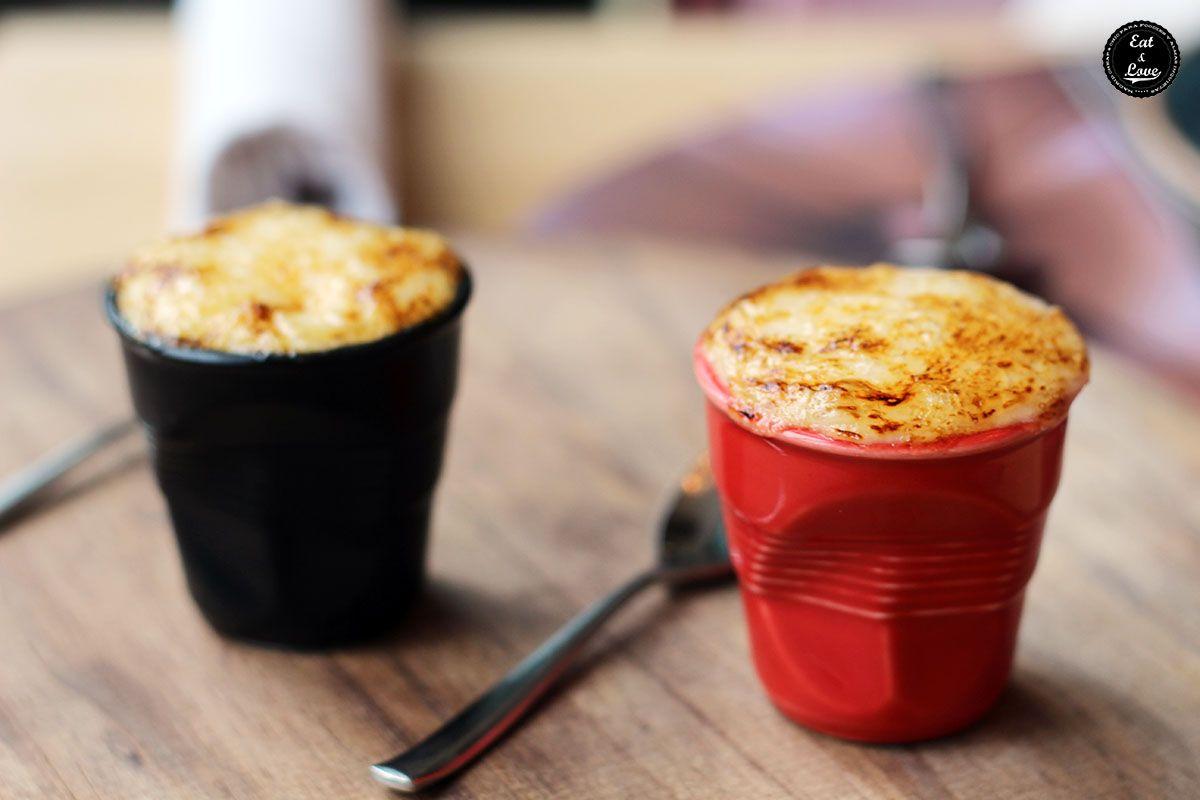 Setas shiitake salteadas con ali oli flambeado de miel en restaurante La Canica Madrid