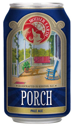 Mother Earth Brewery Kinston North Carolina Porch Pale Ale