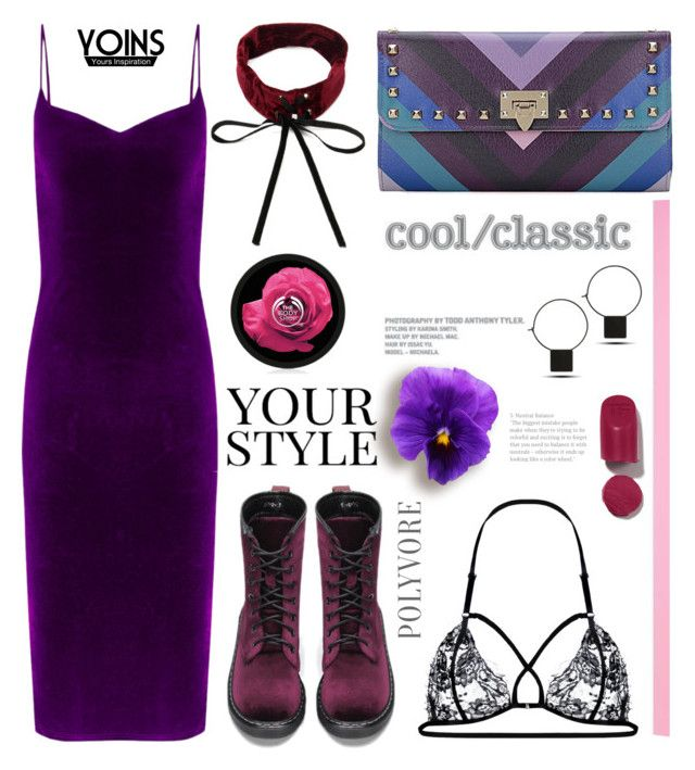 """""""2.4 Purple rain yoins"""" by wannanna ❤ liked on Polyvore featuring Pussycat, yoins, yoinscollection and loveyoins"""