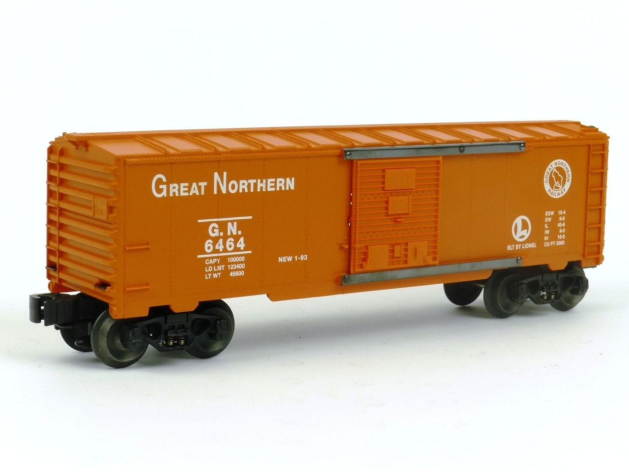 Lionel Trains 6-19249 Great Northern Box Car 6464-25