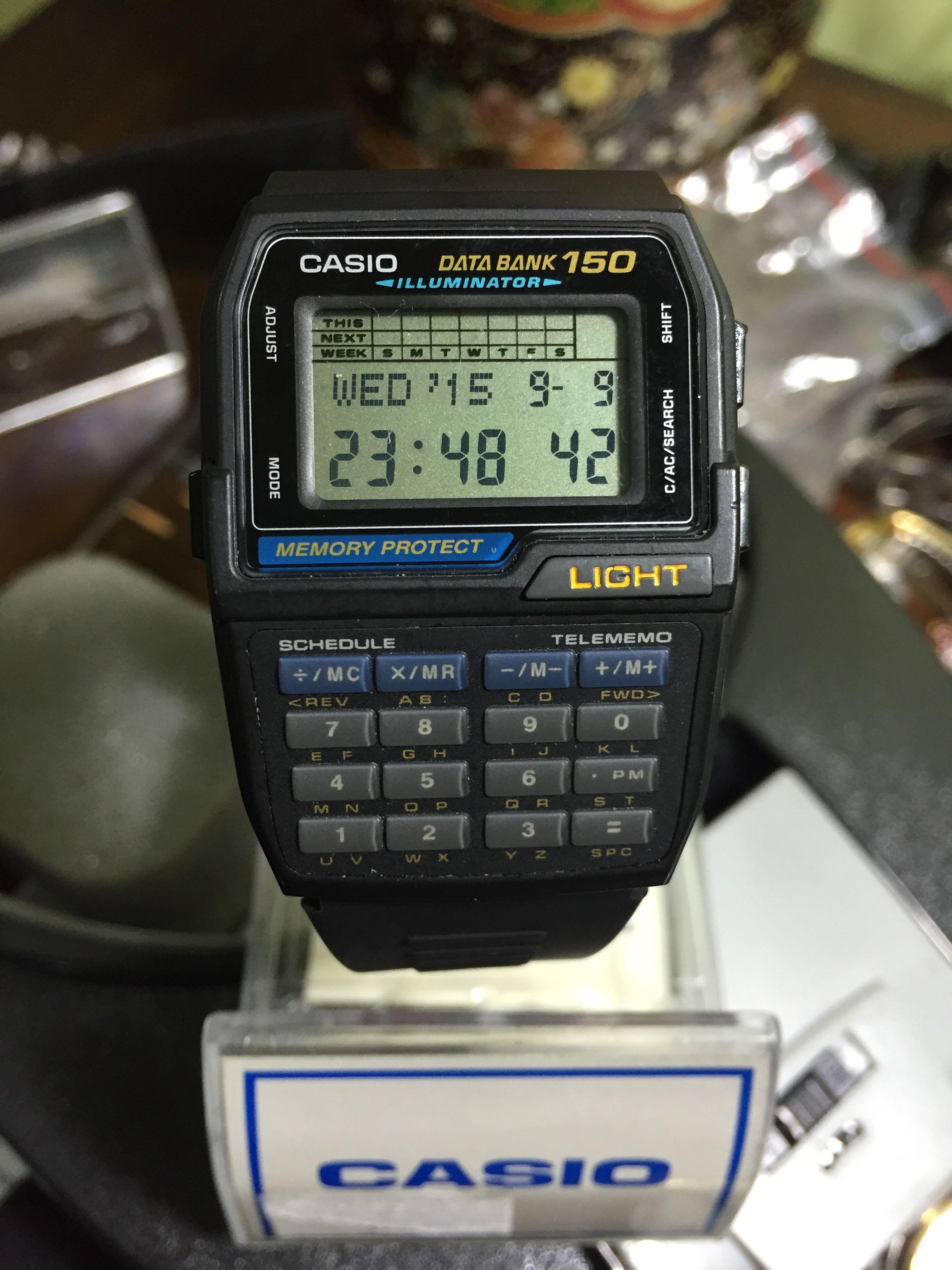 a8c9b3fc7527 Casio databank 1477 DBC 150.