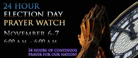 Plan Now To Join The Capitol Hill Prayer Partners Election Day Prayer Watch From 6