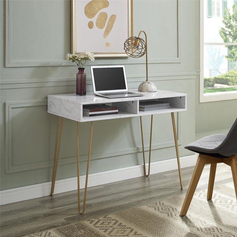 Athena Desk Furniture Desk Storage Marble Desk