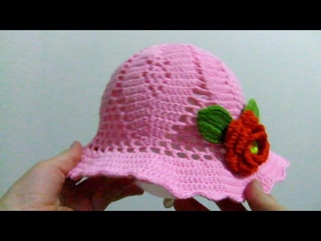Cochet hat tutorial - Crochet for beginners step by step part 3