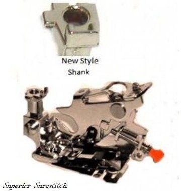 White Baby Lock Ruffler Sewing Machine Presser Foot fits Low Shank Brother