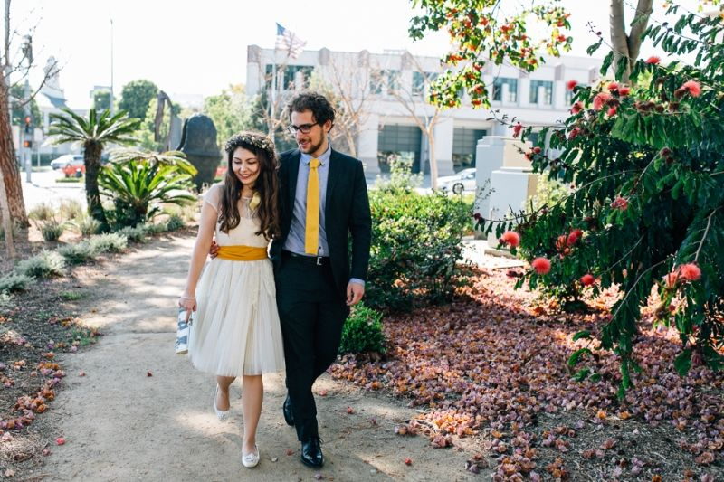 Beverly Hills Courthouse Wedding Elopement