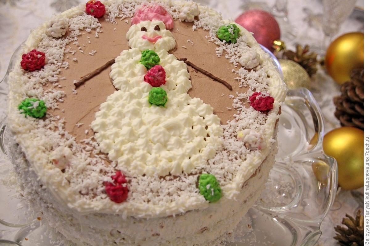 торт к новому году рецепт с фото если своим близким