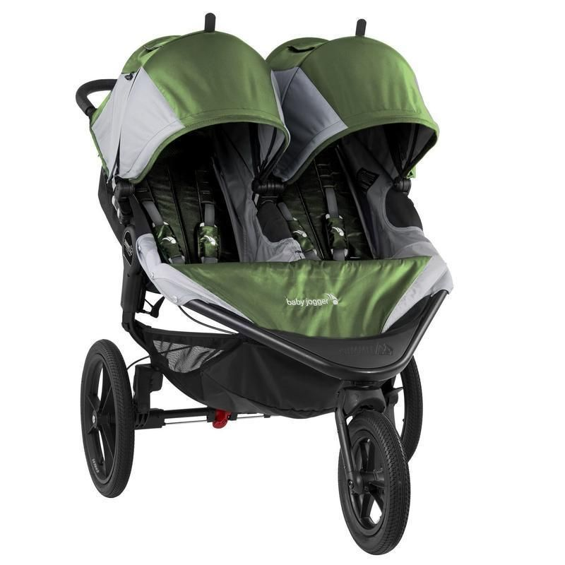 Baby Jogger Summit X3 Double Stroller Double jogging