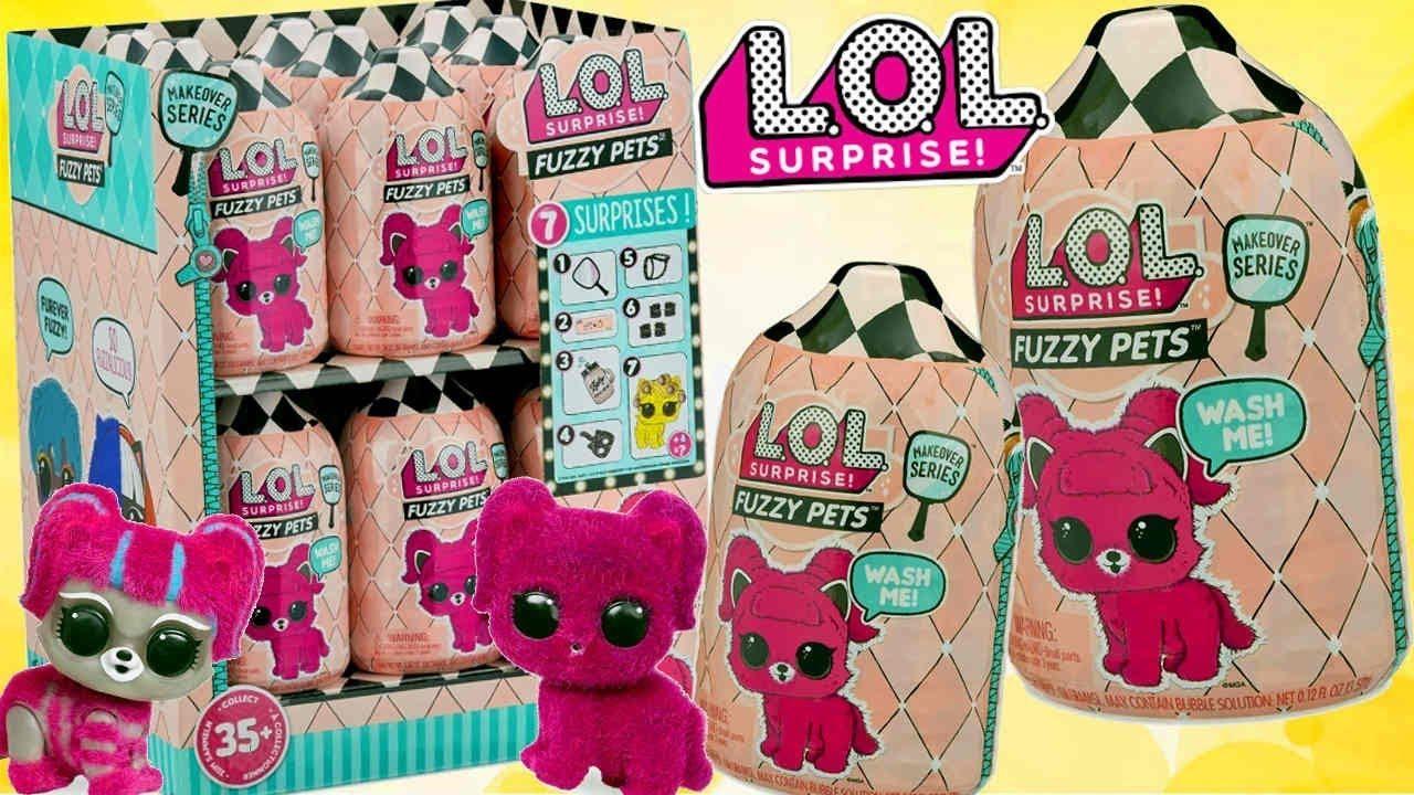 Lol Surprise Fuzzy Pets Makeover Series Zwierzatko Z Futerkiem Fuzzy Lol Pets