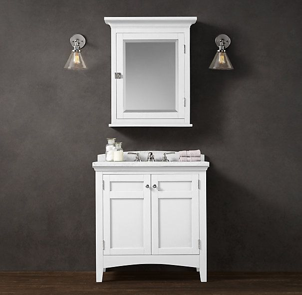 single white vanity with sink. Cartwright Single Vanity Sink  I really like this but we re not