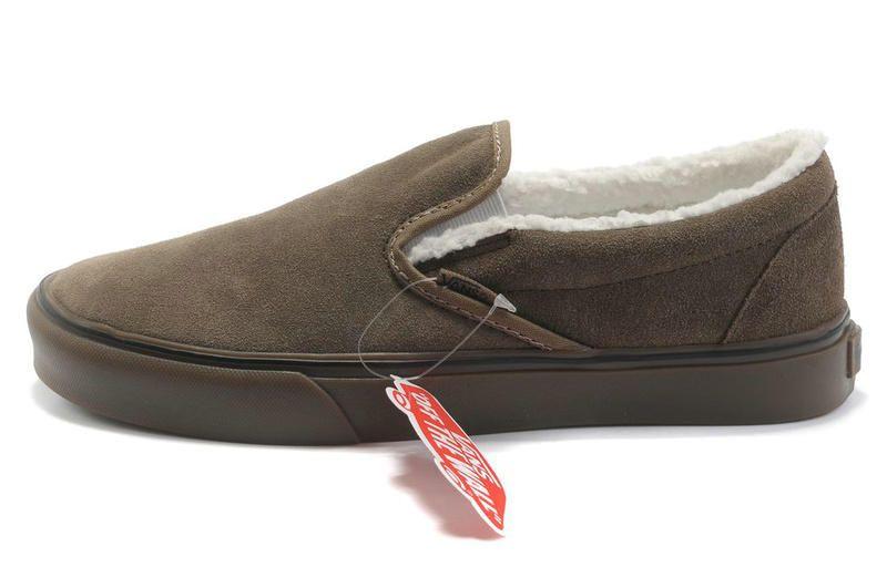 vans mens slippers