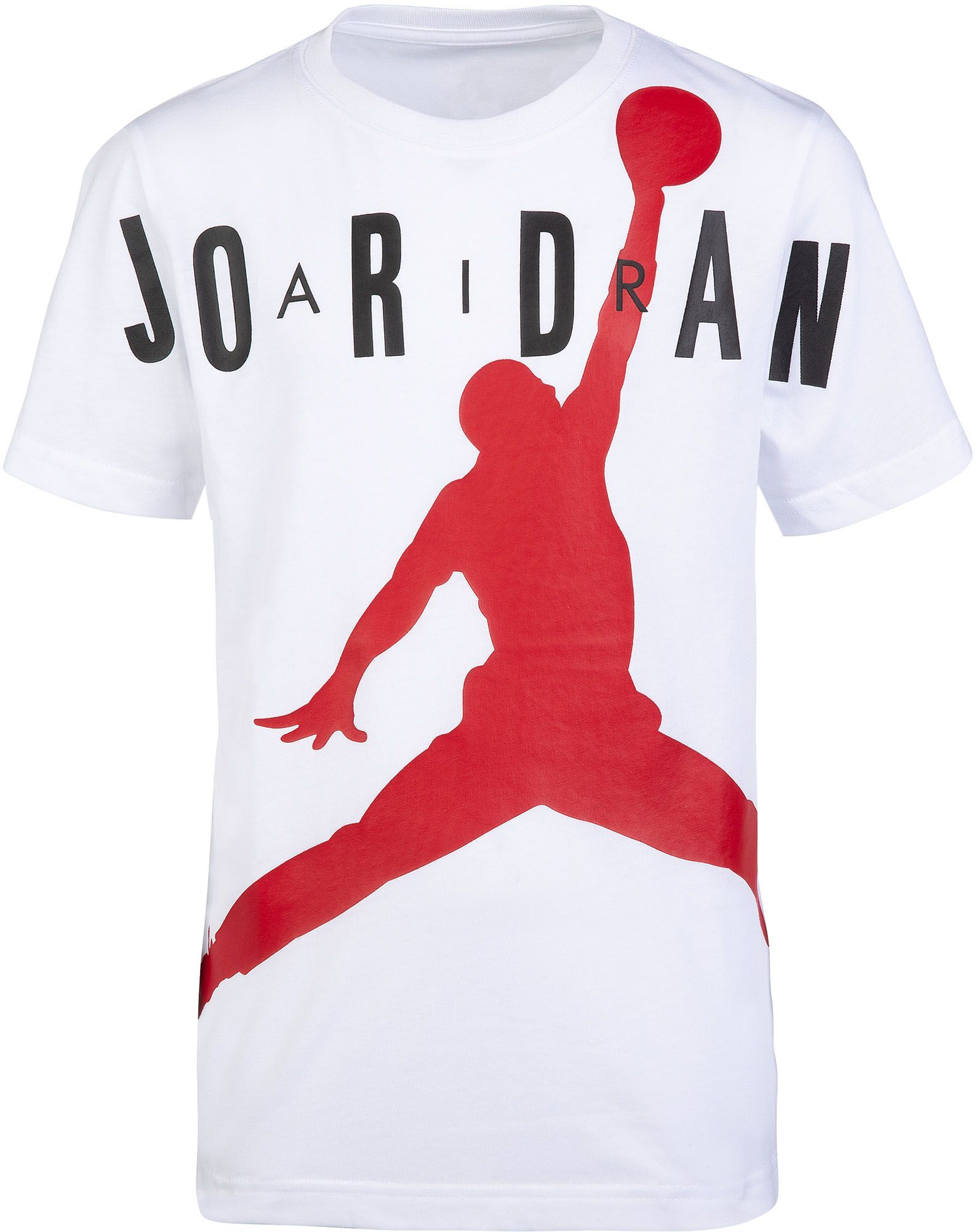 ba22e0171d8 Jordan Boys' Air Jumpman T-Shirt, White | Products | Jordan boys ...