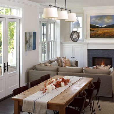 Small Family Room Ideas Design Ideas Pictures Remodel And Decor Small Living Dining Living Room Dining Room Combo Dining Room Small