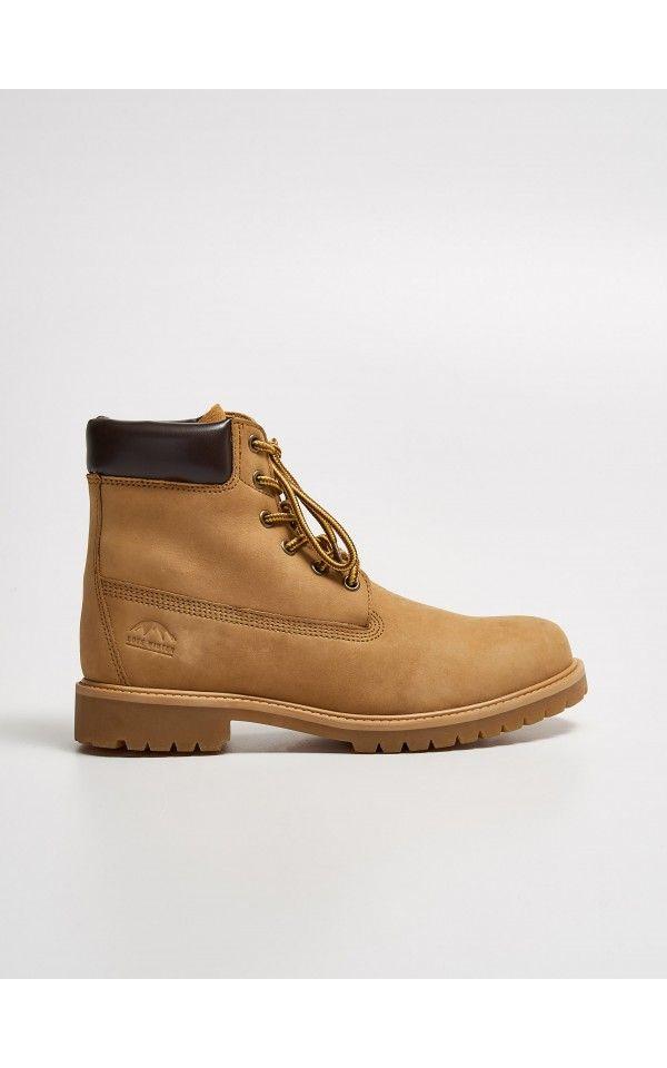 Szurowane Botki Trapery Buty Brazowy Sinsay Boots Timberland Boots Shoes