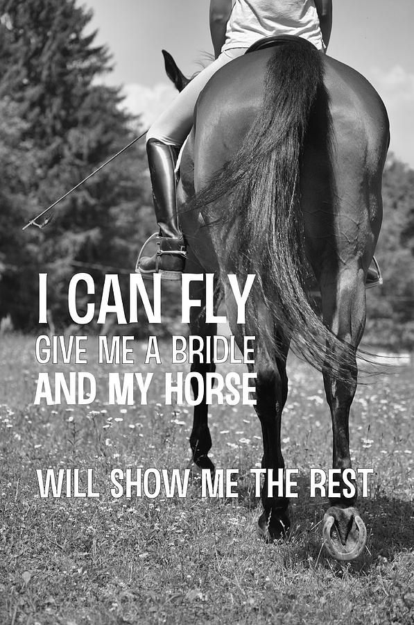 Dressage In The Daisies Quote by JAMART Photography ...