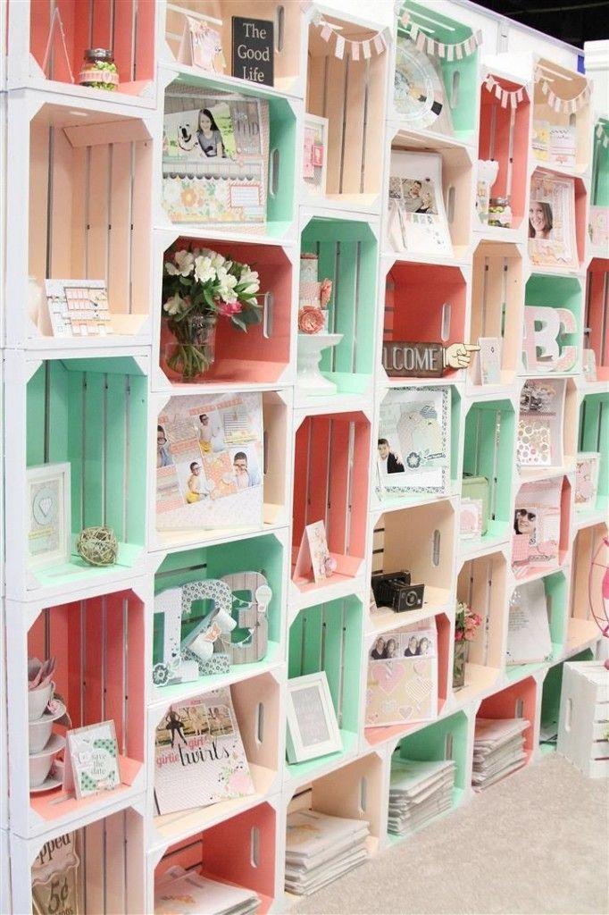 10 innovative ways to make your craft booth pop market. Black Bedroom Furniture Sets. Home Design Ideas