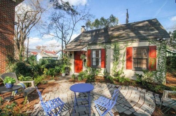 Vacation Rentals Savannah Ga >> Tiny Cottage Vacation Rental In Savannah Georgia Tiny