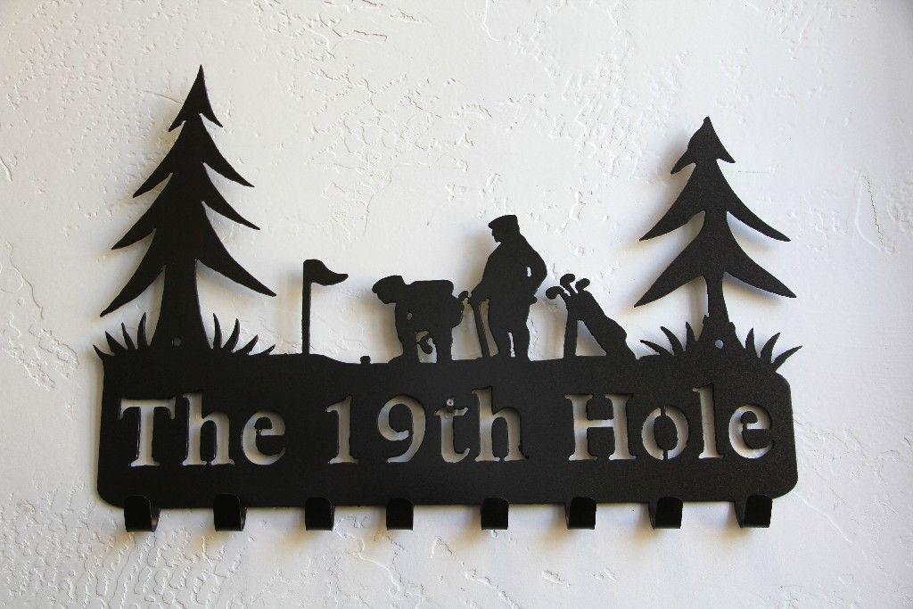 Golf Key Holder Key Hooks Golf Key Rack Holder Design Wall Key Holder Wall Decor