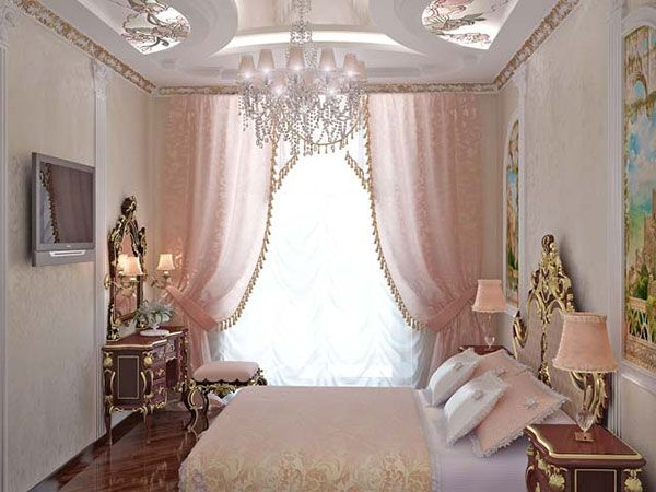 Beau Romantic+Vintage+Bedroom+Curtains | Young Girlroom 25 Incredible Pink  Bedroom Ideas