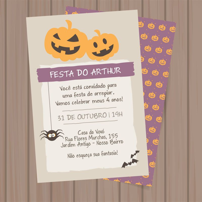Convite Halloween P Imprimir Halloween Dia Das Bruxas Festa